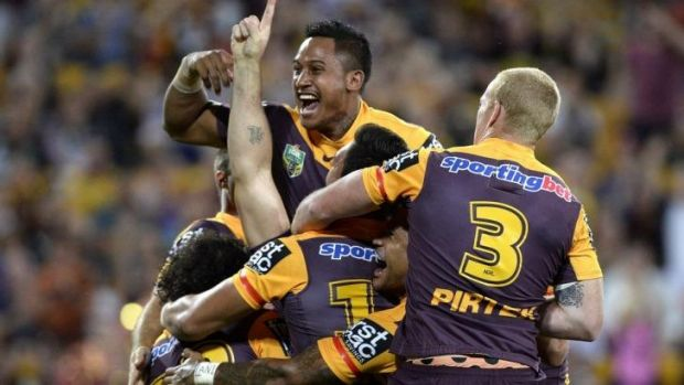 On the up? Brisbane may just have the right stuff in 2014.