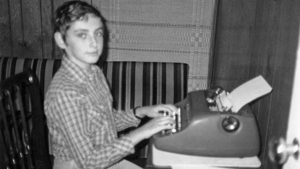 A sickly child: Gary Shteyngart and his family moved from Russia to the US when he was a boy.