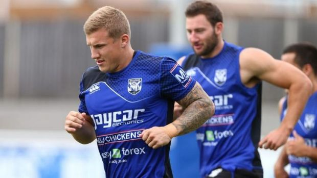 Room for improvement: Bulldogs halfback Trent Hodkinson said he and Josh Reynolds can get a lot better.