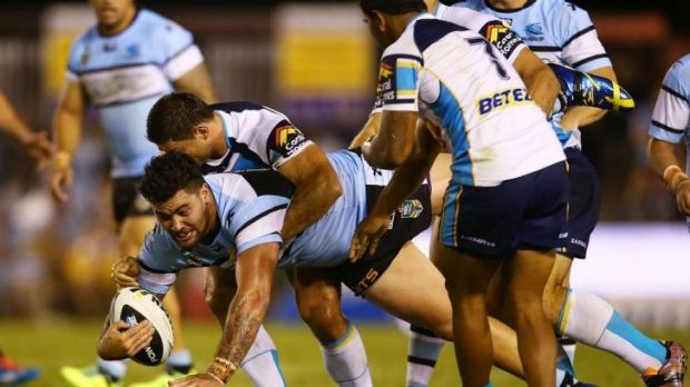 """No replacement: Andrew Fifita has what players call """"football confidence""""."""
