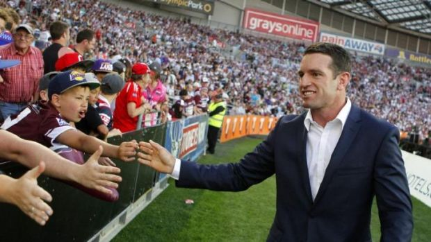 ''I know our loyal followers will get along to support the boys after a pretty tough loss last week'': Danny Buderus.