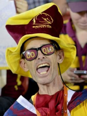 Fanatical: The Broncos' supporter base is the envy of other clubs.