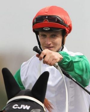 Too good: James McDonald rode Junoob to victory in the Randwick City Stakes.