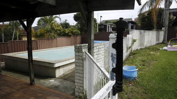 Second rescue: The Singh family's pool.