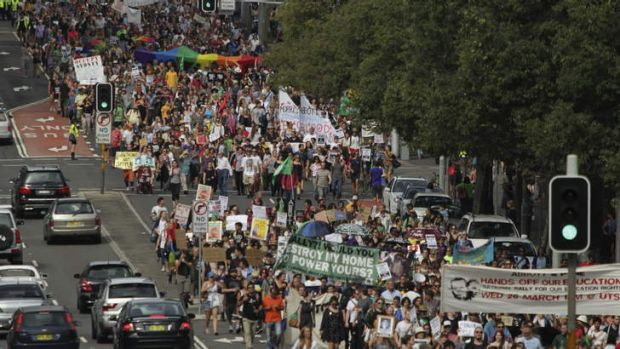 Last Sunday's March in March in Sydney.