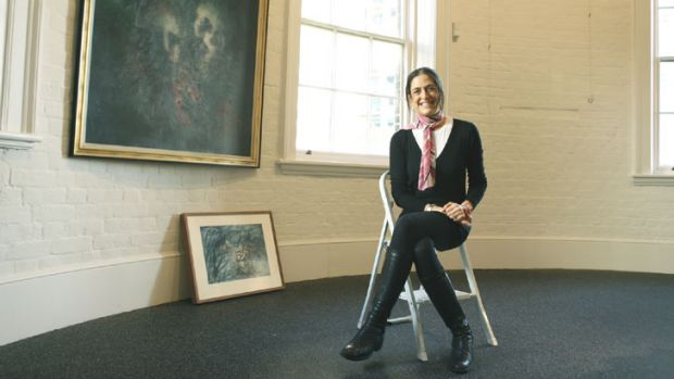 Time poor: Nicky McWilliam, the daughter of the late Eva Breuer, who is director of the Woollahra gallery.