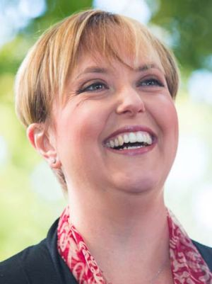 Has leaned towards staying on in the Labor Party as a rebuilder: Lara Giddings.