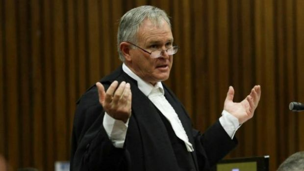 Focus of attention: Barry Roux