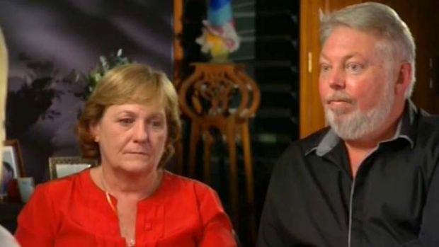 """""""We said we'd get justice and that's what we've got"""": Bruce and Denise Morcombe."""