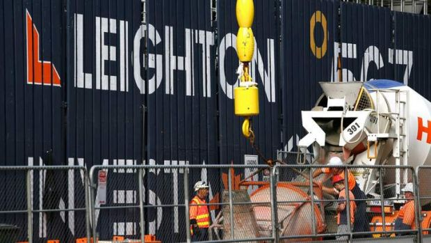 Leighton Holdings' workforce could be cut.