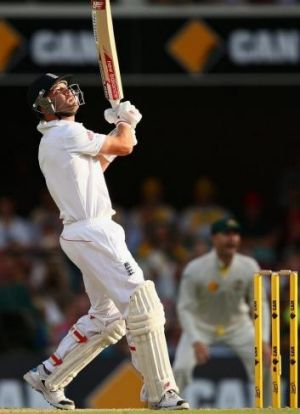 Trott struggled against the fast bowling of Mitchell Johnson and holed out at deep square in the second innings of the ...