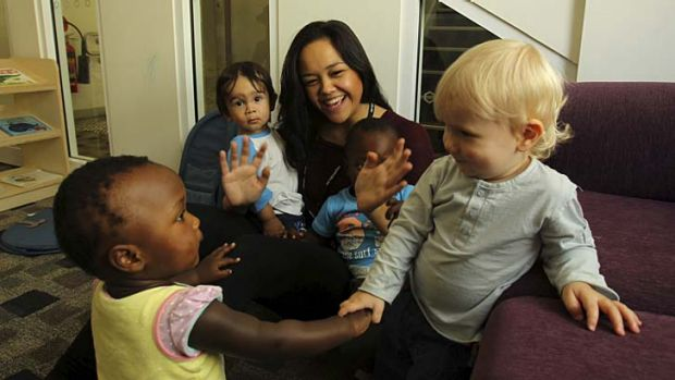 Helping hands: Unions are about uniting people with common aims and desires, early childhood teacher Marian Rakosi says.