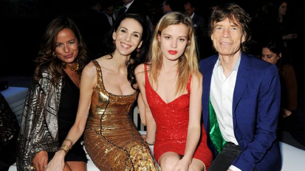Jade Jagger, L'Wren Scott, Georgia May Jagger and Mick Jagger attend the annual Serpentine Gallery Summer Party at The ...