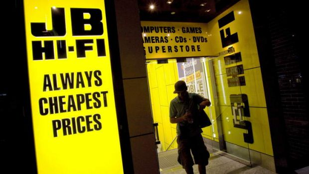 JB Hi-Fi has joined the queue of retailers reporting a slowdown in the wake of May's federal budget.