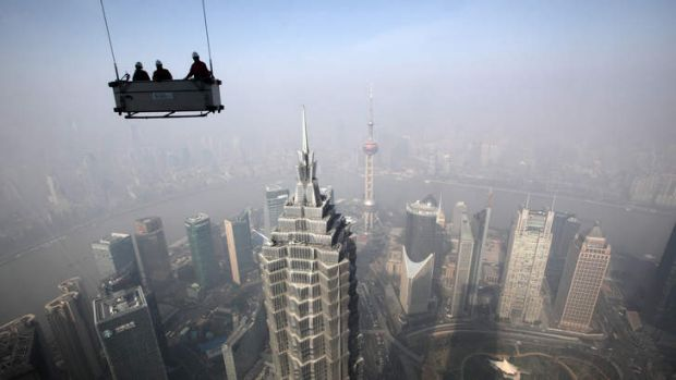 Hanging on: Zhejiang Xingrun's collapse paints a gloomy picture for the Chinese economy.