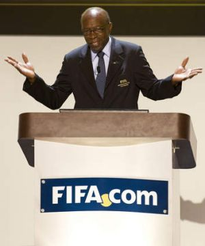 Jack Warner, Former president of North American soccer's governing body CONCACAF and FIFA committee member.