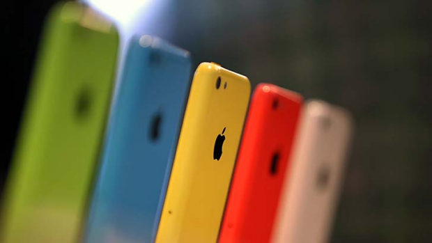 iPhone 5c: Apple has introduced a cheaper model.