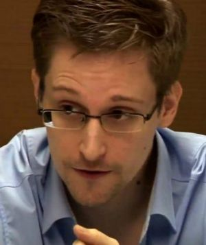 Former NSA contractor Edward Snowden.