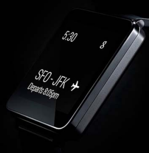 LG's G Watch will also run on Android Wear.