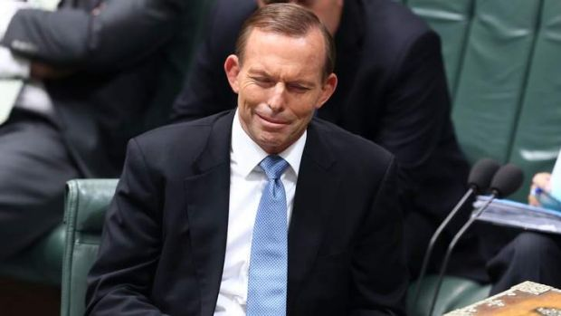Prime Minister Tony Abbott took a series of questions from Opposition Leader Bill Shorten on Senator Arthur Sinodinos ...