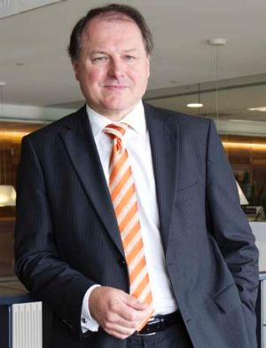 Stockland chief Mark Steinert.