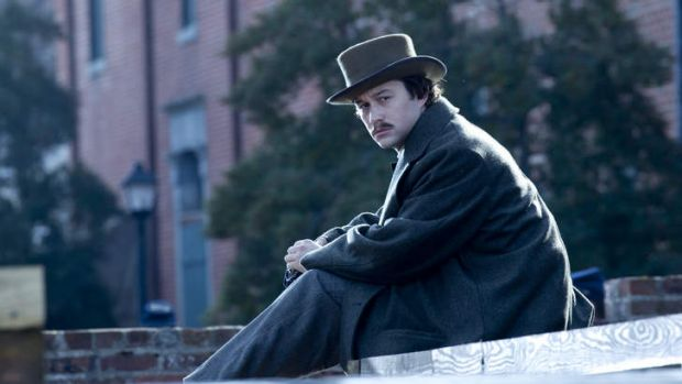 As Robert Lincoln, the 21-year-old son of the president in Steven Spielberg's <i>Lincoln</i>.
