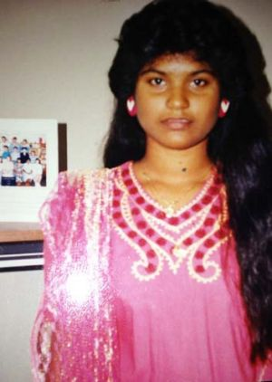 Monika Chetty, aged 14.