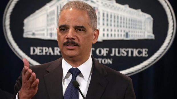 """""""Toyota's conduct was shameful,"""" US Attorney-General Eric Holder said."""