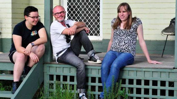 CHANGE FOR GOOD: Yen Eriksen, Daniel George and Ashley Arbuckle are pleased laws have been passed recognising a ...