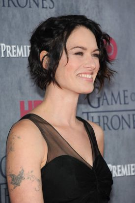 Cersei ...  Actress Lena Headey attends the <i>Game Of Thrones</i> Season 4 New York premiere.