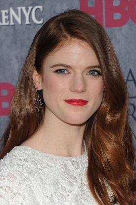 Ygritte ...  Actress Rose Leslie attends the <i>Game Of Thrones</i> Season 4 New York premiere.