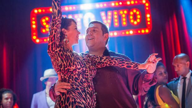 Nick Frost stars in <i>Cuban Fury</i>, a romantic comedy about a sad sack who returns to his first love, salsa dancing, ...