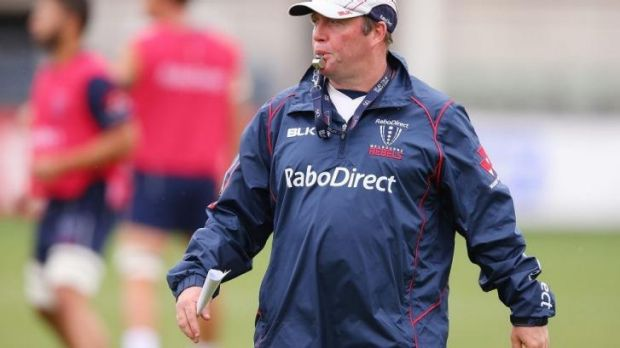 Melbourne Rebels coach Tony McGahan.