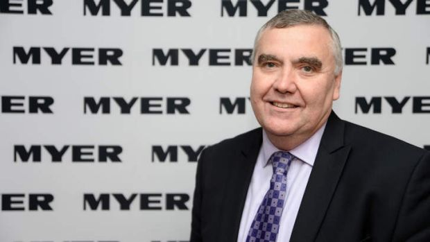 Bernie Brookes, chief executive officer of Myer.