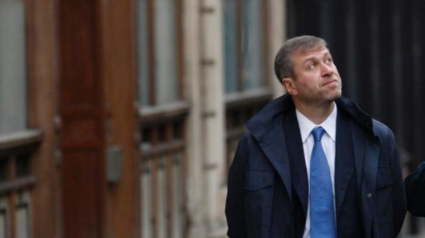 Russian billionaire and owner of Chelsea football club Roman Abramovich in London.