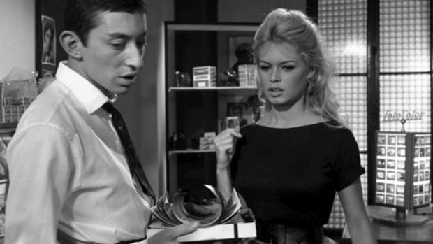 Generating steam: Serge Gainsbourg and Brigitte Bardot combined for one of the most celebrated ''love'' songs.
