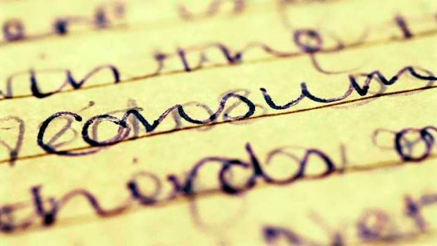 Handwriting may be all but impossible for people afflicted with dysgraphia.