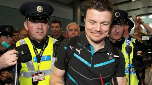 Brian O'Driscoll became the world's most capped international during the Six Nations.
