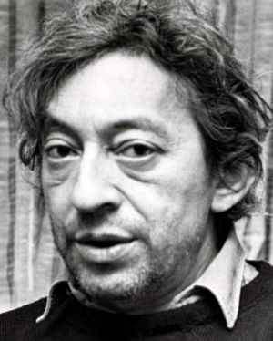 1980s ... Serge Gainsbourg.