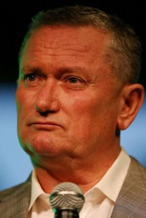Stephen Dank considers question.