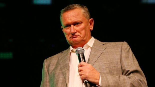 More fallout to come: Stephen Dank at Friday's function at Crown.