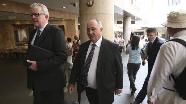 ''A nice man's way of saying fraud'': Former Sydney Water executive Ron Quill.