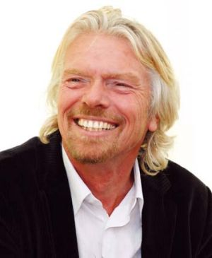 """Crinkly moneybags"": Richard Branson."