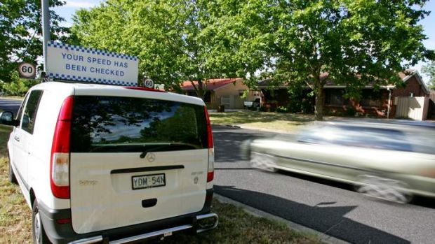 The ACT Government today announced that it has increased the number of sites for its Mobile Speed Camera Vans for 60 to 80.