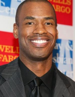 Openly gay: Jason Collins.