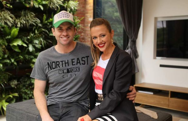 The Block contestants Steve and Chantelle.