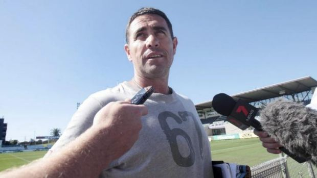 Silent treatment: Sharks coach Shane Flanagan hasn't heard from NRL boss Dave Smith.