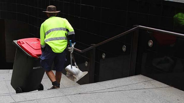 Red tape repeal: The government is looking to abolish the Commonwealth Cleaning Services Guidelines for cleaners ...