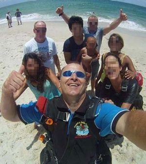'Unsurvivable': Juraj Glesk, an instructor with Adrenalin Skydive Bribie Island, was one of five people killed when a ...
