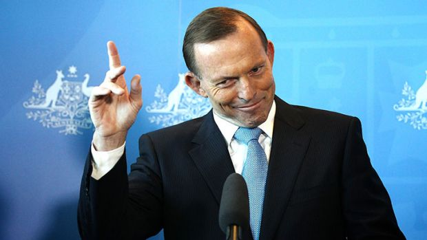 Tony Abbott is keen to keep the Christmas party tradition going.